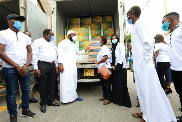 Mombasa County Household Relief and Nutrition Support Project Donations
